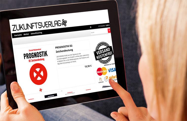 Zukunftsverlag Webshop Online Zukunftsverlag