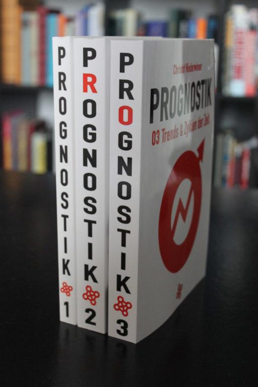 Prognostik-Bände 01-03 von Christof Niederwieser - Bundle